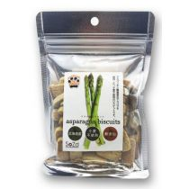 """SOZAI"" Dog Vegetable Biscuit - Asparagus (Pet Snack) 70g"