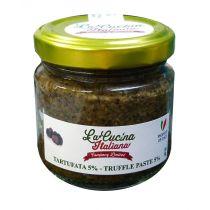 """LA CUCINA ITALIANA"" 5% Black Summer Truffle Sauce 180g"