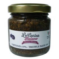 """LACUCINA ITALIANA"" 15% Black Summer Truffle Paste  90g"