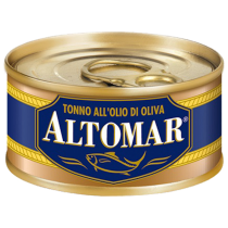 """ALTOMAR"" Yellow Fin Tuna in Olive Oil 80g"