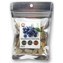 """SOZAI"" Vegetable Biscuit - Blueberry  (Pet Snack) 70g"