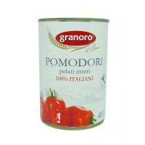 """GRANORO"" Whole Peeled Tomatoes 400g"