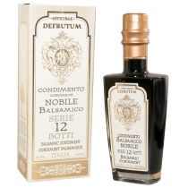 """DEFRUTUM"" Balsamic Condiment NOBILE - Serie 12-GOLD (12 years) 250ml"