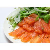 Premium IQF Sliced of Smoked Atlantic Salmon (SCOTTISH) 200g