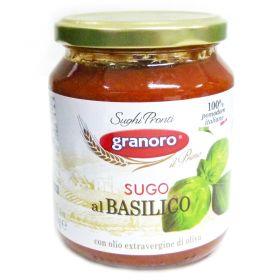 """""""GRANORO"""" Sugo al Basilico Sauce 370g     == Out of Stock="""