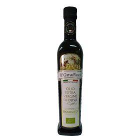 """IL CAVALLINO"" Bio Extra Virgin Olive Oil 500ml x 2 (Classic Gift Set)"
