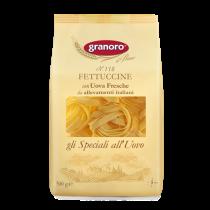 """""""Granoro"""" Fettuccine (Egg Pasta Nests) n. 118 500g"""