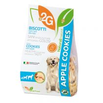 """2G"" Pet Food Classic Series Sugar Free Cookie - Apple (Pet Snack) 350g"