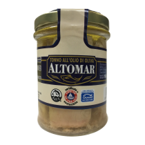 """ALTOMAR"" Yellow Fin Tuna in Olive Oil 190g"
