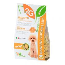 """2G"" Pet Food Flakes Series Sugar Free Cookie - Banana (Pet Snack) 350g"