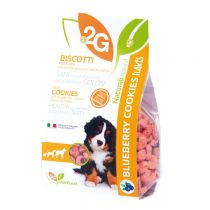 """2G"" Pet Food Flakes Series Sugar Free Cookie - Blueberry (Pet Snack) 350g"