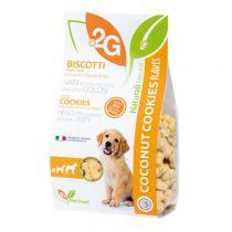 """2G"" Pet Food Flakes Series SurgarFree Cookie - Coconut (Pet Snack) 350g"