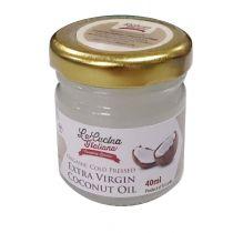 """LACUCINA ITALIANA"" Organic Cold Pressed Extra Virgin Coconut Oil 40ml"