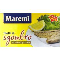 """MAREMI"" Mackerel Fillets in Sunflower Oil  125g"
