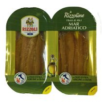 """RIZZOLI"" Adriatic Sea Anchovy Fillets in Extra Virgin Olive Oil 2 x 24g"